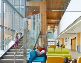 ErinoakKids treatment center, Erin Sauga, courtesy Stantec