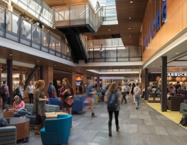 Gonzaga's new student center is bustling social hub