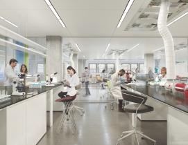 Hudson Research Center, Manhattan, Taconic Development, HiberCell, architect Perkins+Will