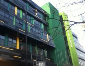 Fraser Brown MacKenna Green Gown Award GE Fogg Building