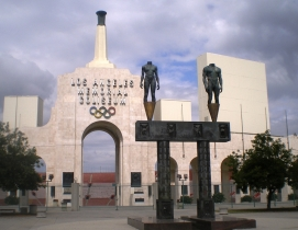 The Memorial Coliseum's Peristyle