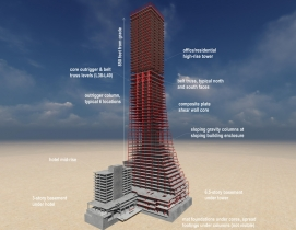 Skyscraper design, Rainer Square, 58-story tower, Seattle, speed core, Magnusson Klemencic Associates, Ron Klemencic, AEC Innovators