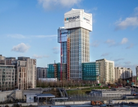 Prefab factory in the sky: Mace Group built working factories on top of under-construction high rises