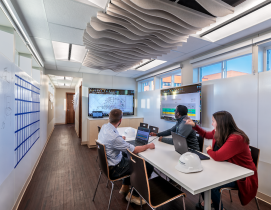 Net zero construction trailer brings health and wellness to the jobsite