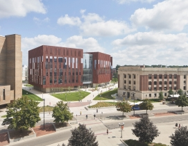 University of Michigan's Biological Sciences Building, 2019 Science + Technology Giants Report, Giants 300 Report, Ennead Architects, SmithGroup Photo Bruce Damonte