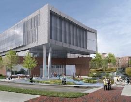 Fitts-Woolard hall rendering