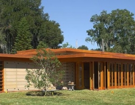 Originally designed as faculty housing, the Usonian house will be part of the Sh