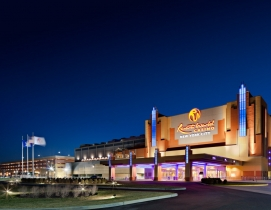 The complex, located within the Aqueduct Racetrack complex, will contribute appr