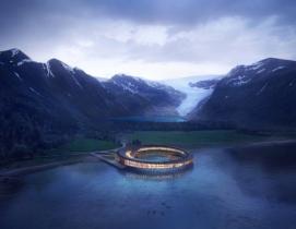 Svart hotel in the arctic circle