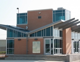 Construction on UNTs new facility began in July 2011. A ribbon cutting ceremony
