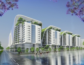 Renderings courtesy Vincent Callebaut Architecture