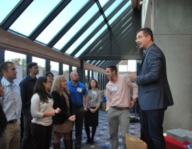 Tom Wujec, Autodesk Fellow and Lead Facilitator for the U40 Vision Competition,
