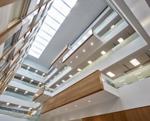 Using Acoustic Plenum Barriers Above Interior Partitions