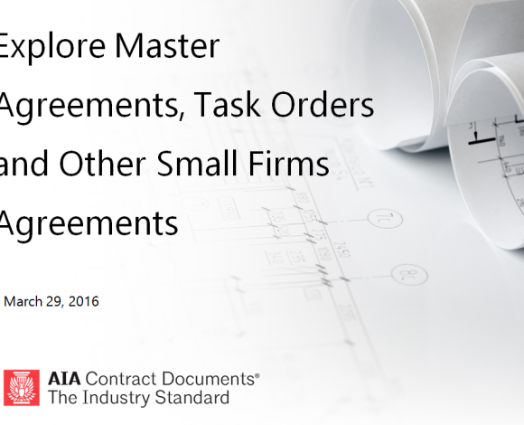 AIA Contract Documents | BDC University