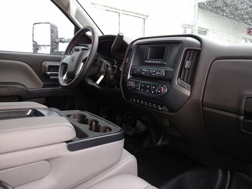 Interior look at the CV Series cab