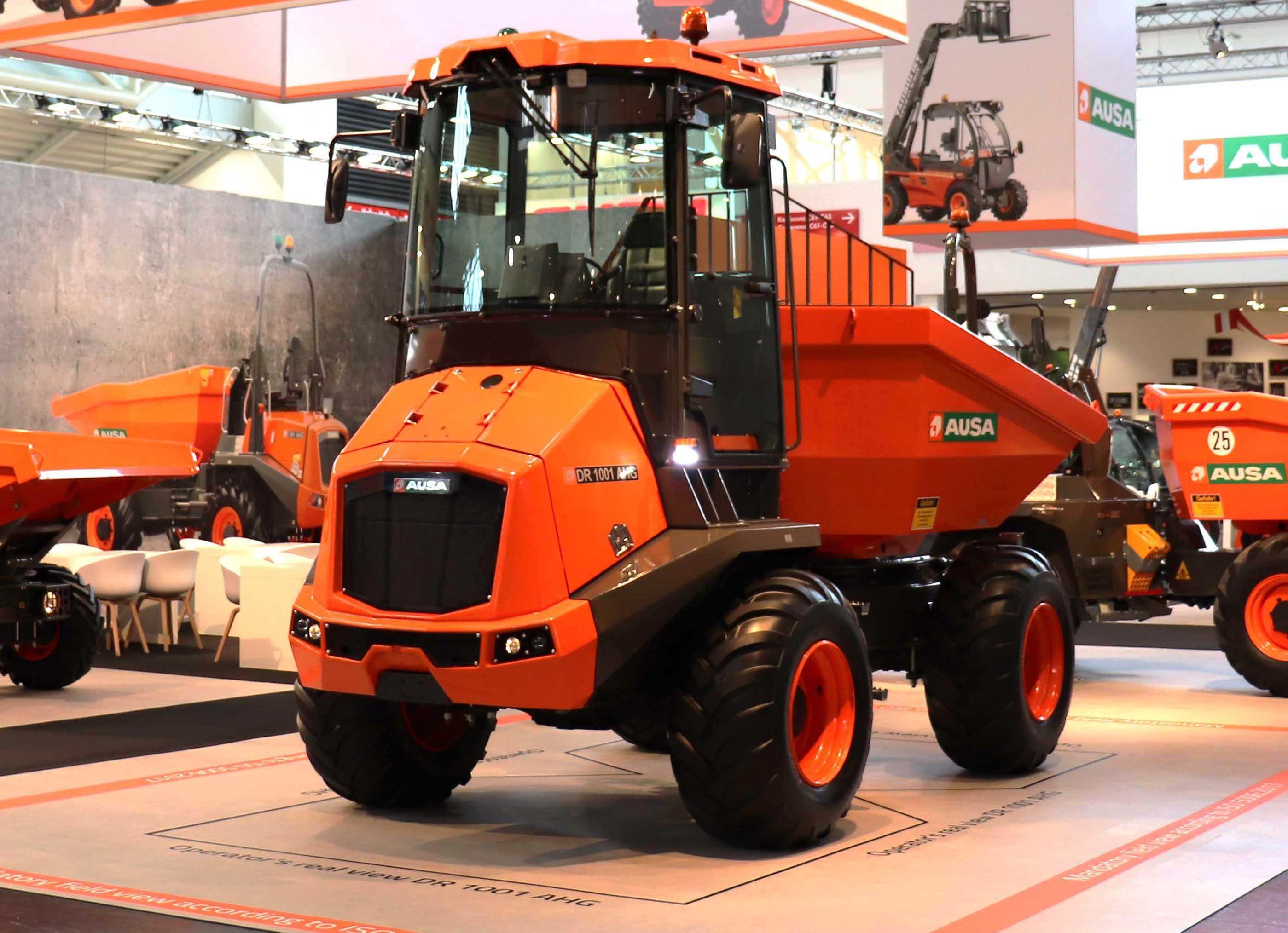 Ausa DR1001AHG site dumper is a 22,000-pound unit