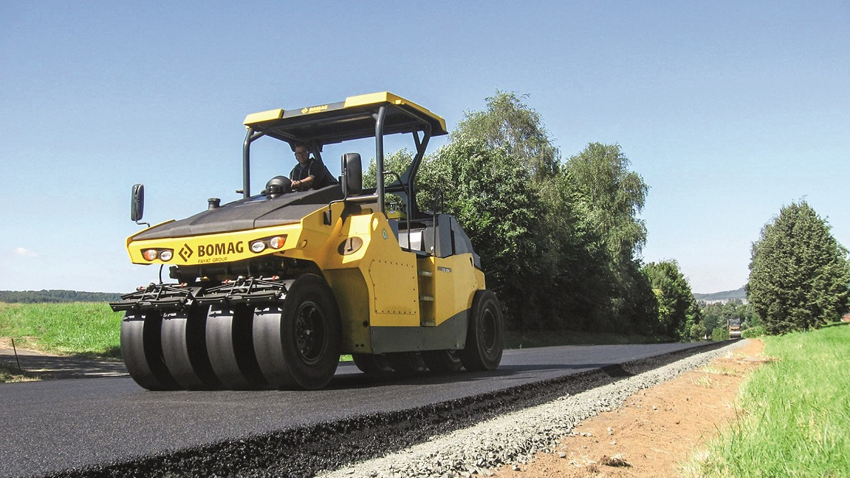 Six Komatsu-owned dealerships will sell and support BOMAG equipment