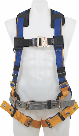 Werner has upgraded its Blue Armor and LiteFit fall protection harness series, with the addition of a Relief Handle.