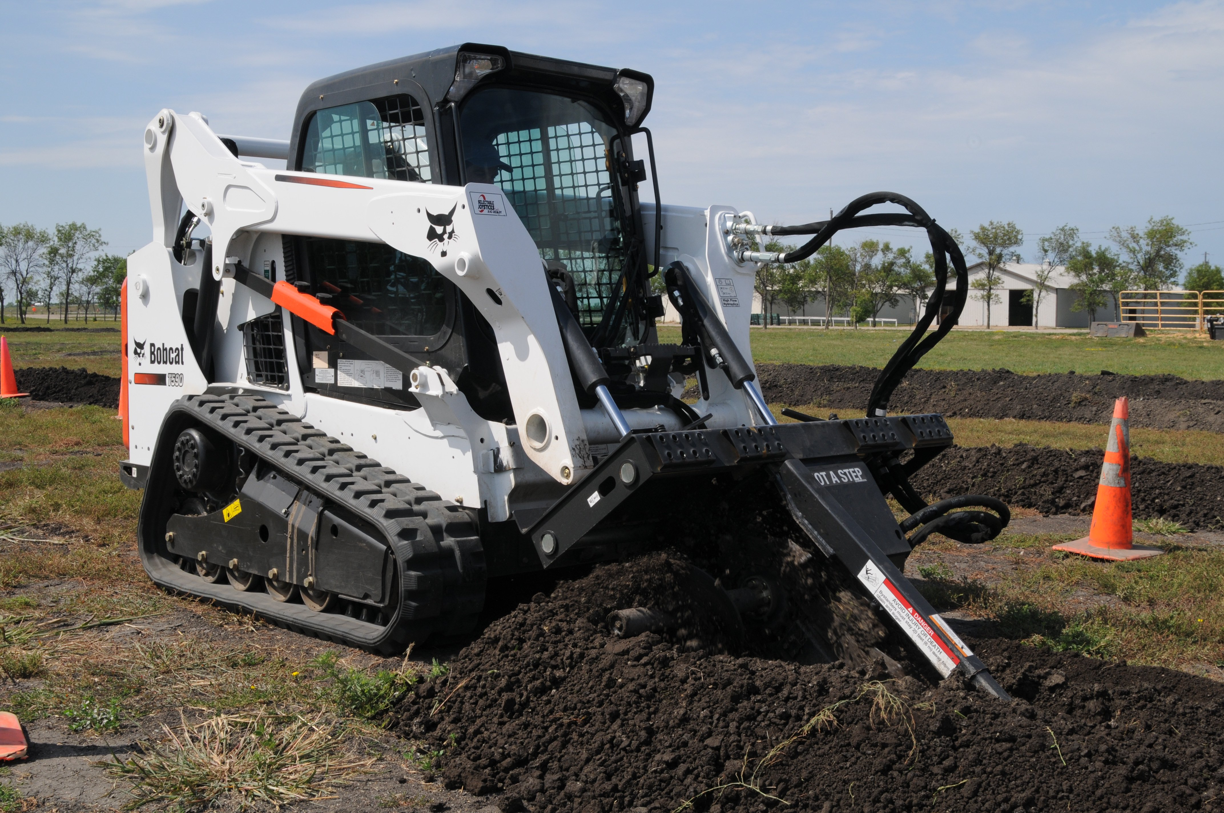 Bobcat T590 Compact Loader Production Tops Predecessor by 20
