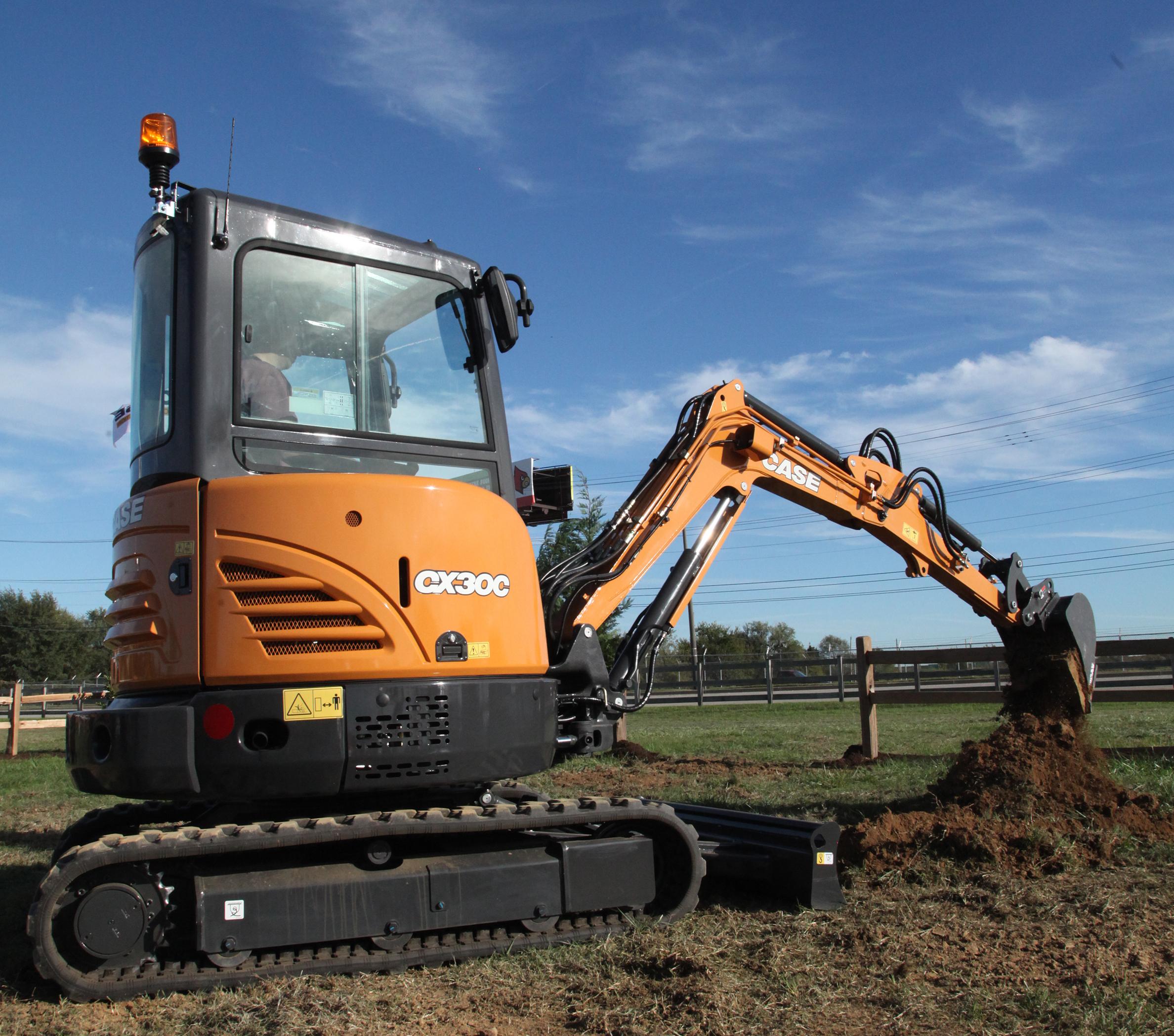 Case CX30C Excavator   Construction Equipment