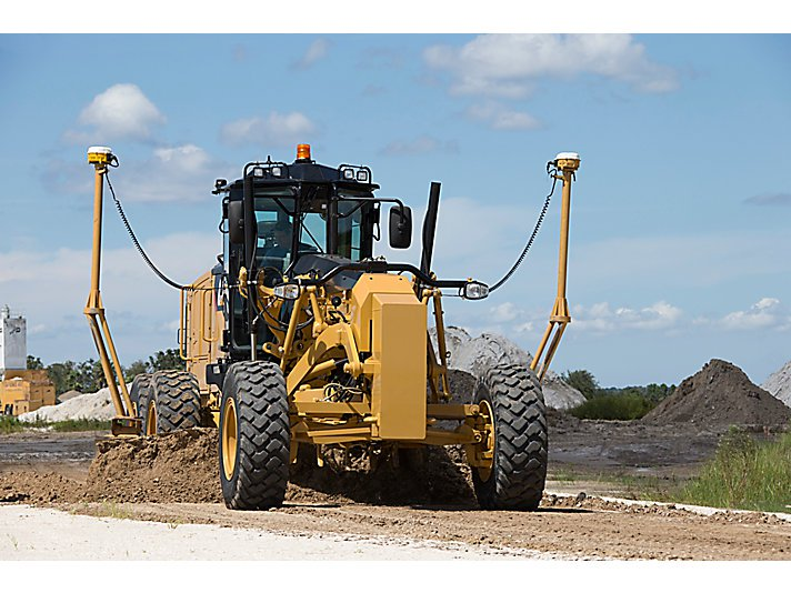 Caterpillar Introduces Technology Suite for M Series Motor Graders