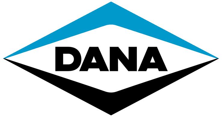 Dana logo against a white background.