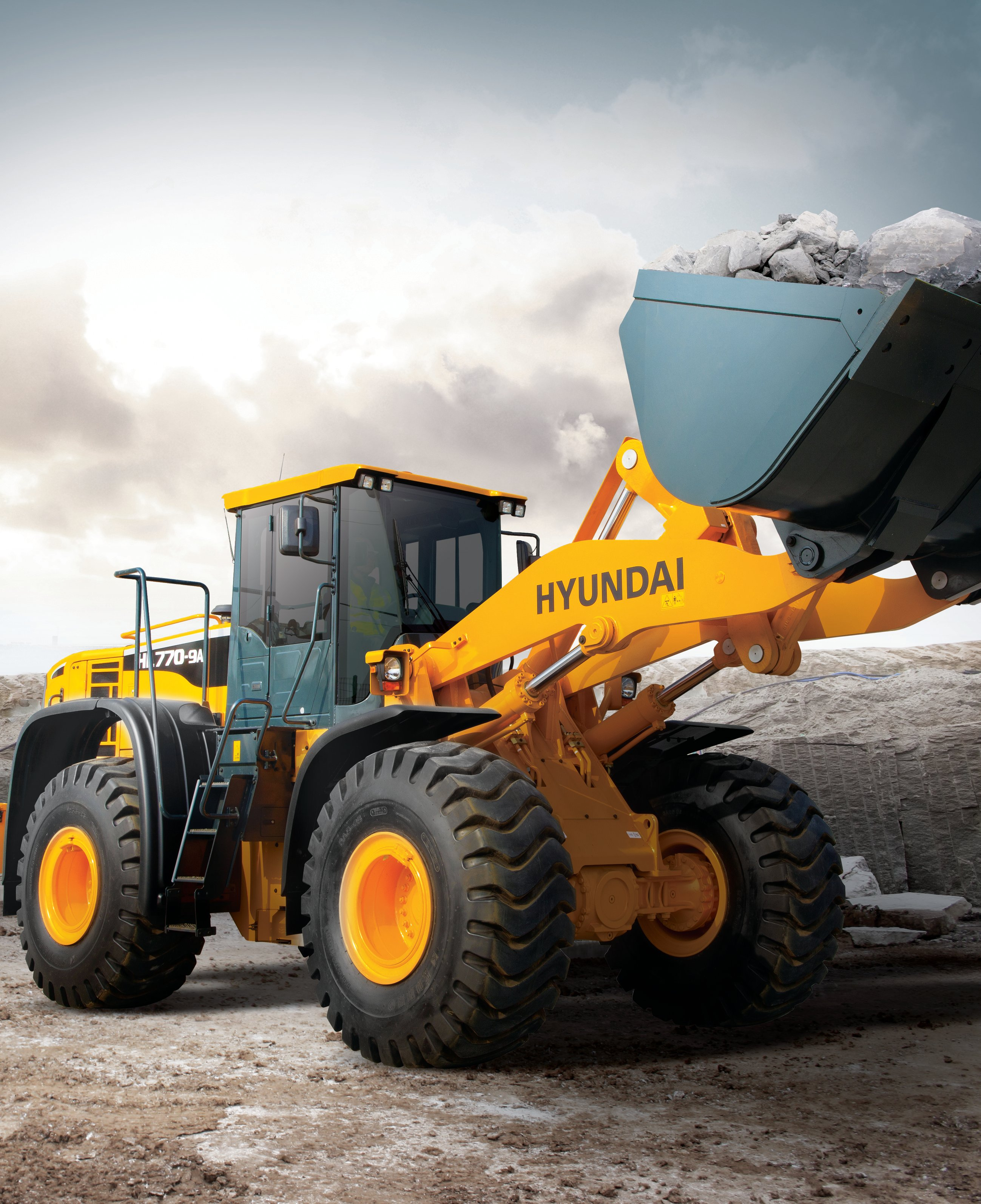 Product Of The Week Hyundai Hl770 9a And Hl780 9a Wheel: Hyundai HL770-9A, HL780-9A Wheel Loaders