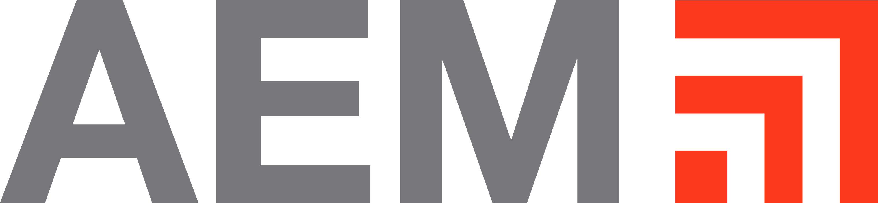 AEM new logo.