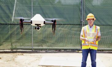 Drones will guide Komatsu equipment