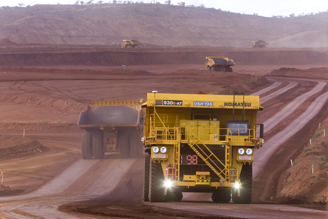 Mining operators are moving toward LTE networks to control haul trucks