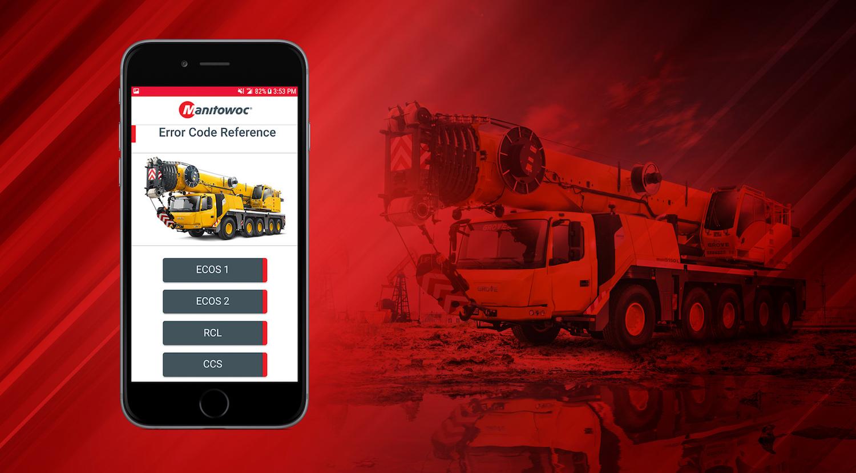 Manitowoc App Interprets Proprietary Machine Codes | Construction