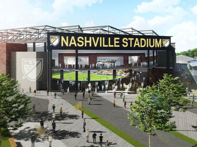 Soccer stadium in Nashville would seat 27,500