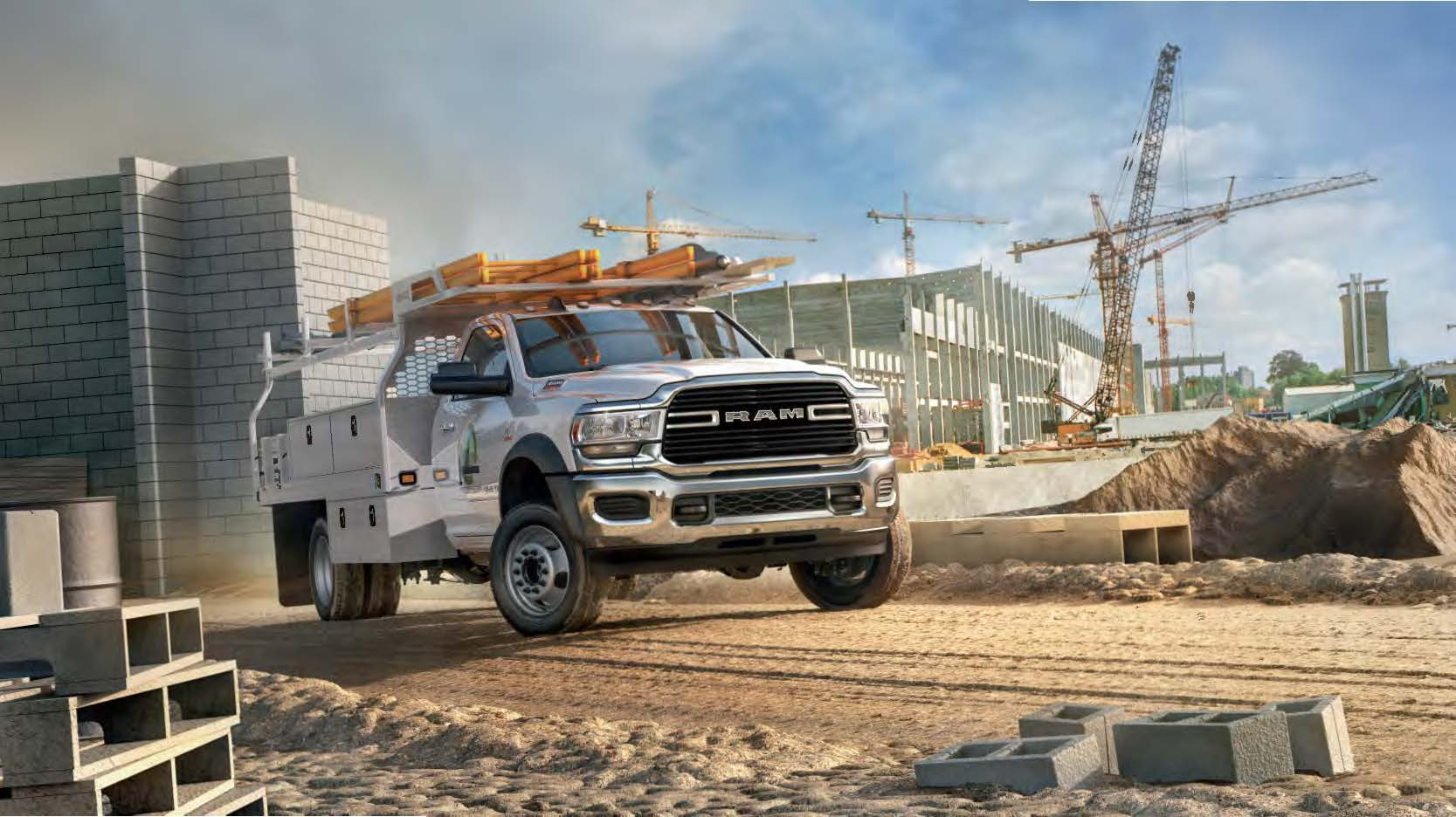 2019 Ram 2500 through 5500 Chassis Cab models come in four trim levels