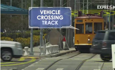 Tampa Hillsborough Expressway Authority is installing a connected vehicle pilot program that will combine vehicle-to-vehicle and vehicle to infrastructure technology on 10 electric streetcars