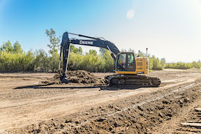 Topcon X-53x automatic excavation system uses a new calibration method