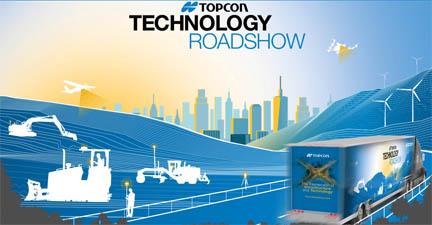 Topcon training tour will stop in 28 cities across North America