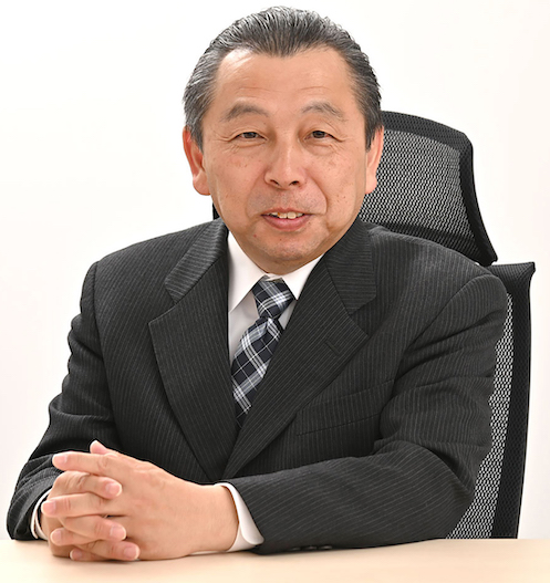 Takeuchi founder and president Akio Takeuchi has stepped down and appointed his son, Toshiya Takeuchi, as the company's president.