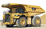 Caterpillar 795F AC rigid-frame haul truck