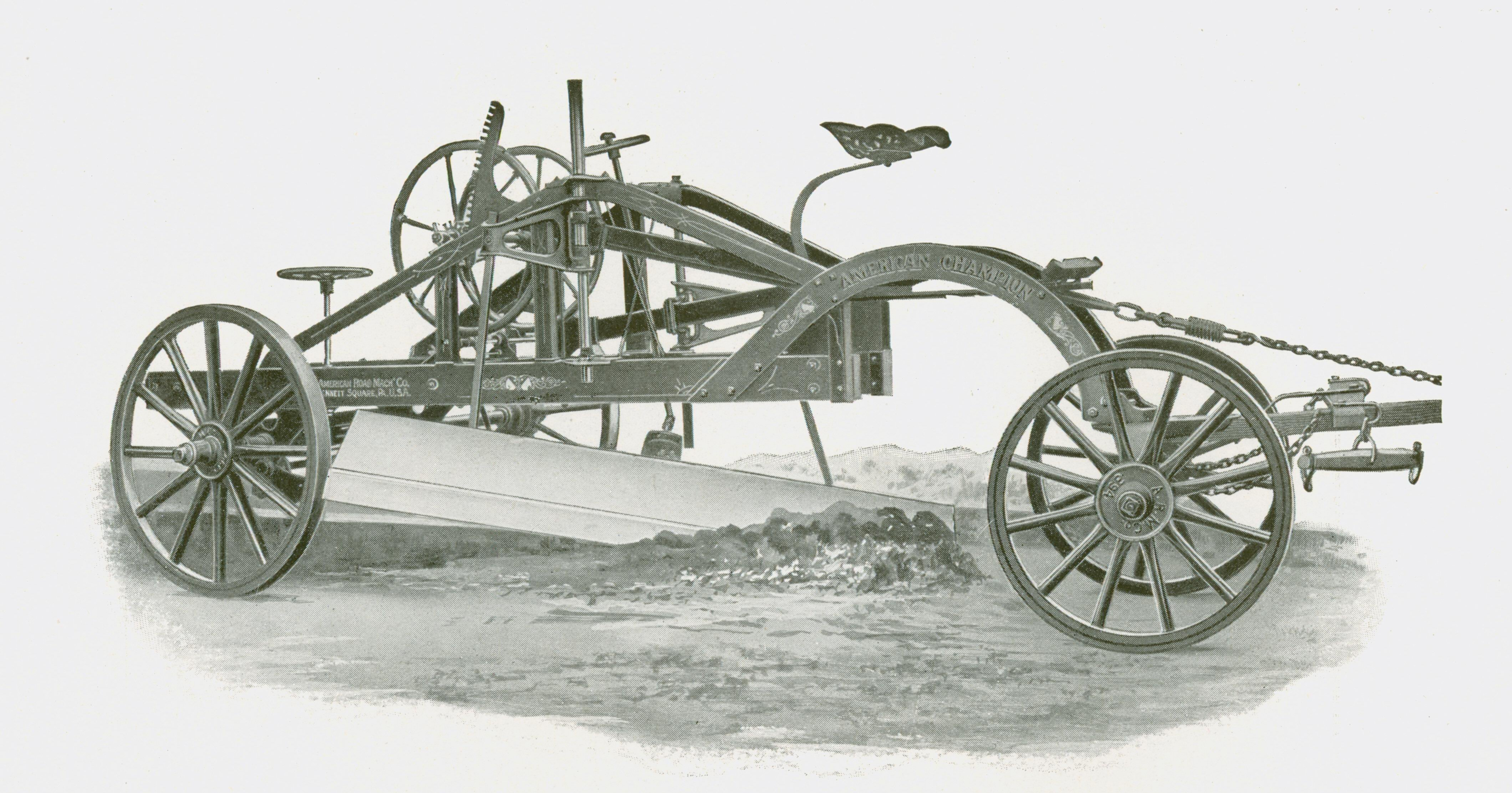 Iron Works: The Design of a Pull Grader | Construction Equipment
