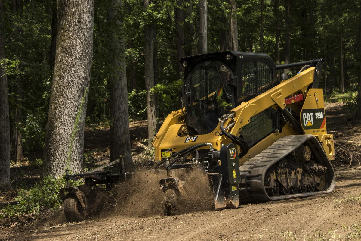 Attachments needs should be considering when buying a compact track loader.