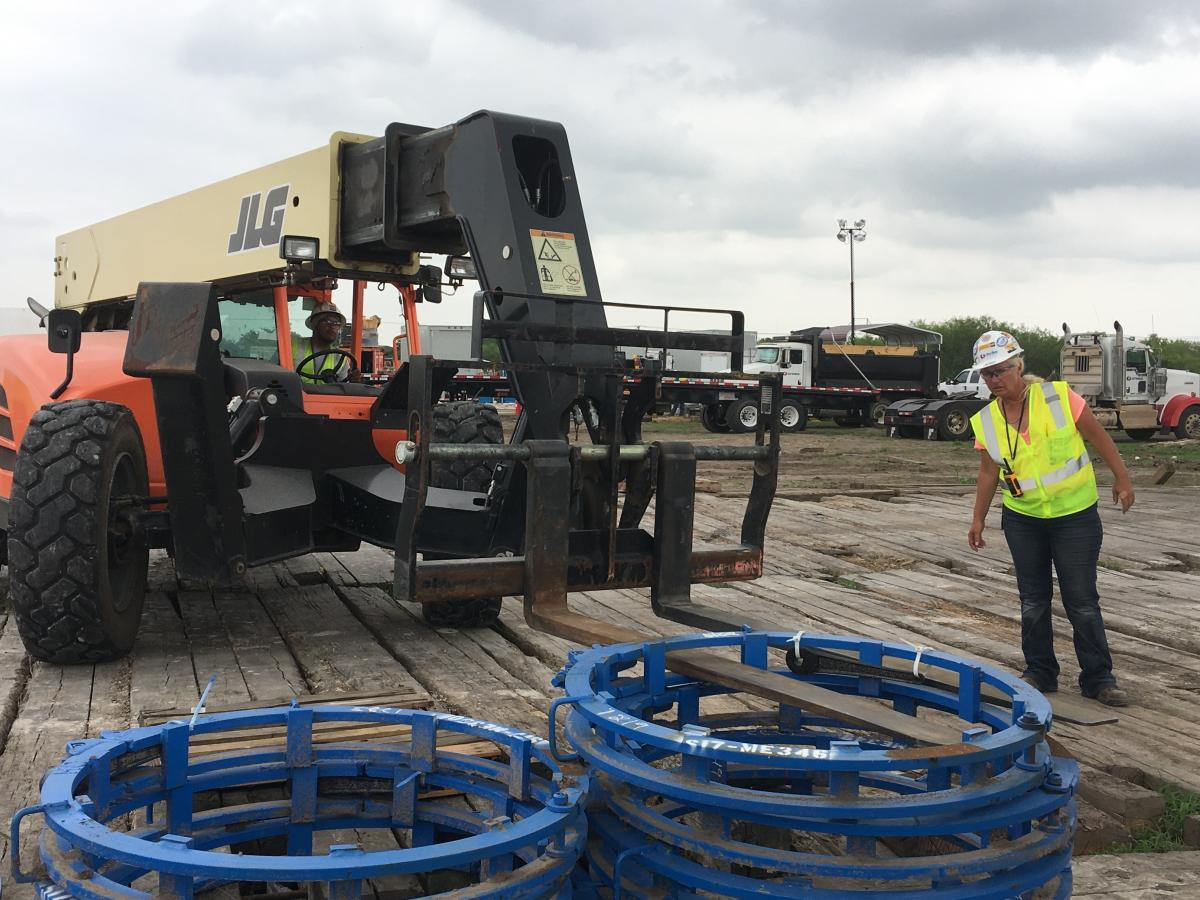 Strike LLC works closely with its construction equipment suppliers