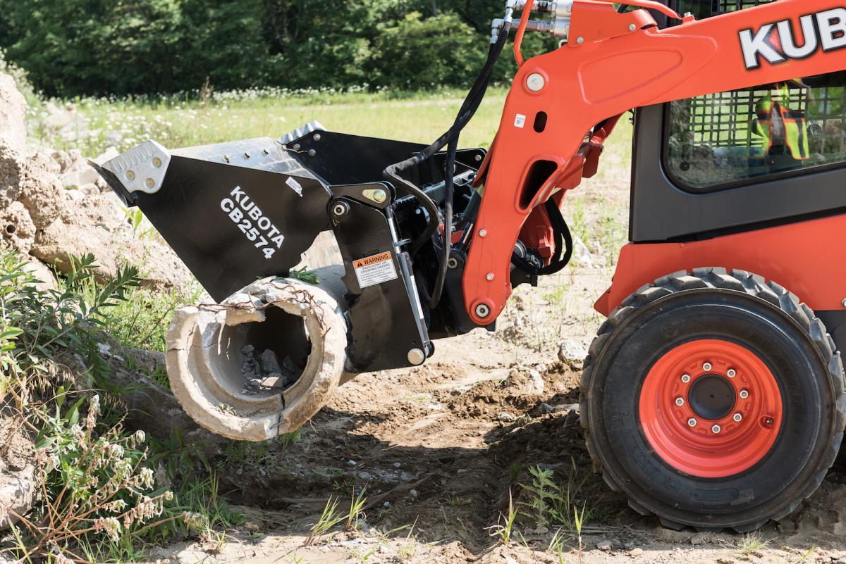 Job-Site Assessment: Kubota SSV75 Skid Steer Loader | Construction