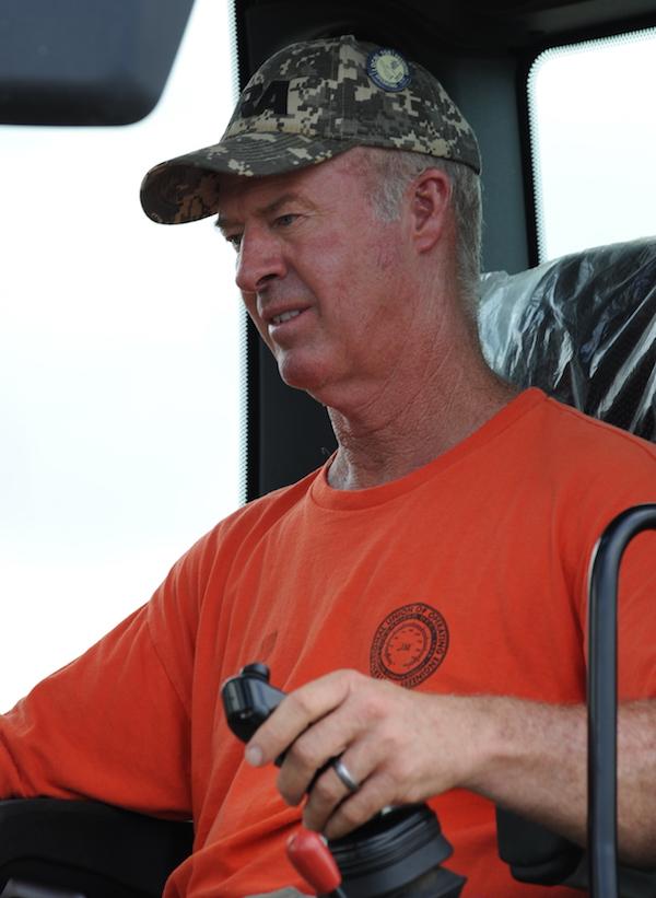IUOE Local 150 operator/instructor Hershel Howard.