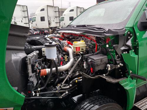 CV Series has a V-8 engine