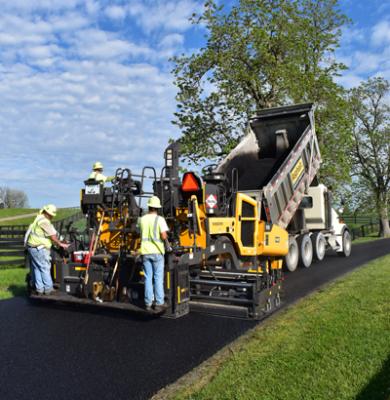 Volvo will bring telematics to asphalt pavers