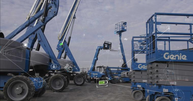 Aerial lifts are using more telematics.