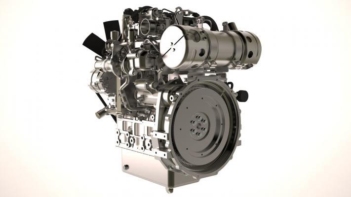Perkins 404F-E22TA Engine