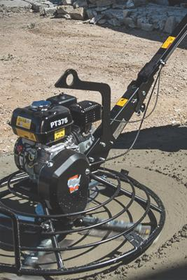 American Pneumatic Tools introduces a line of walk-behind power trowels.
