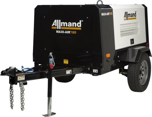 Allmand Bros. adds MA185 and MA400 Air Compressors