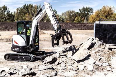 Bobcat Depth Check System for Excavators